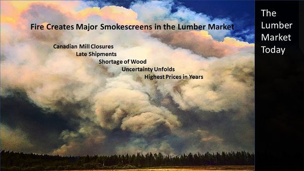 July 2017:  The Lumber Market Today