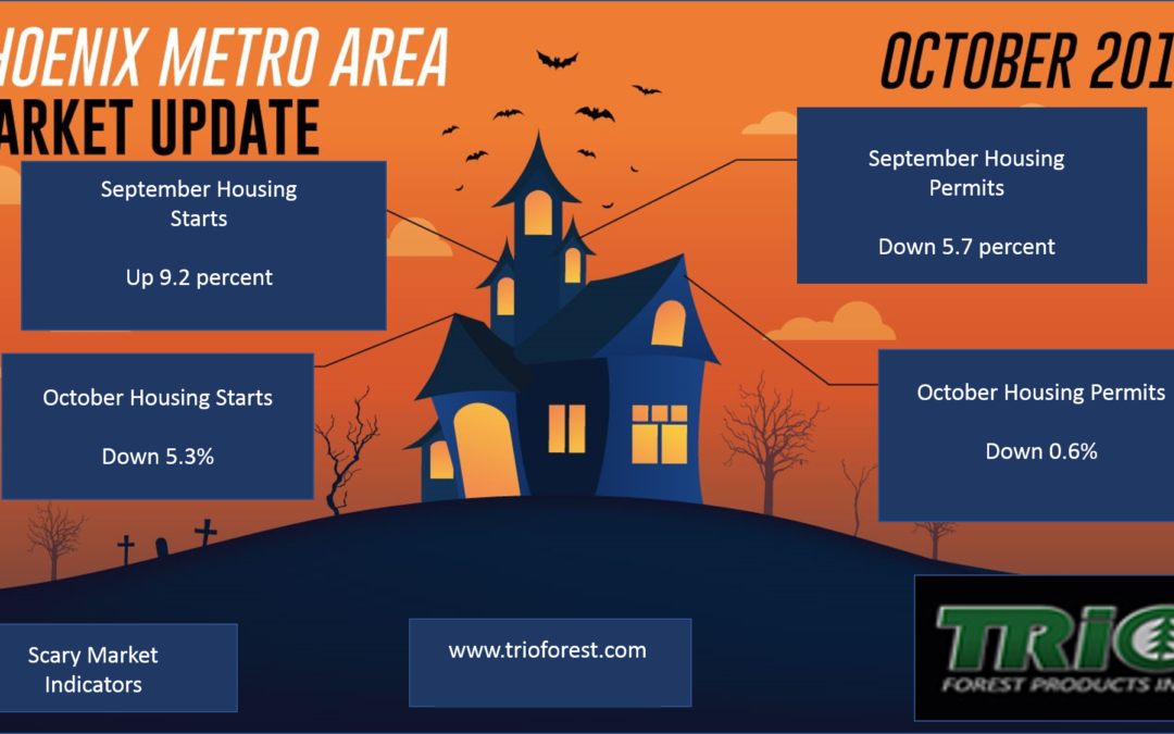 Scary Lumber Market Indicators Infographic:  Oct 2018