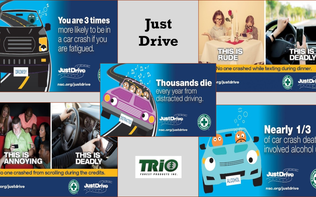 April is Distracted Driving Awareness Month:  Free Training Materials for your Teams